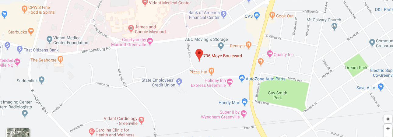 Greenville Office Location Image